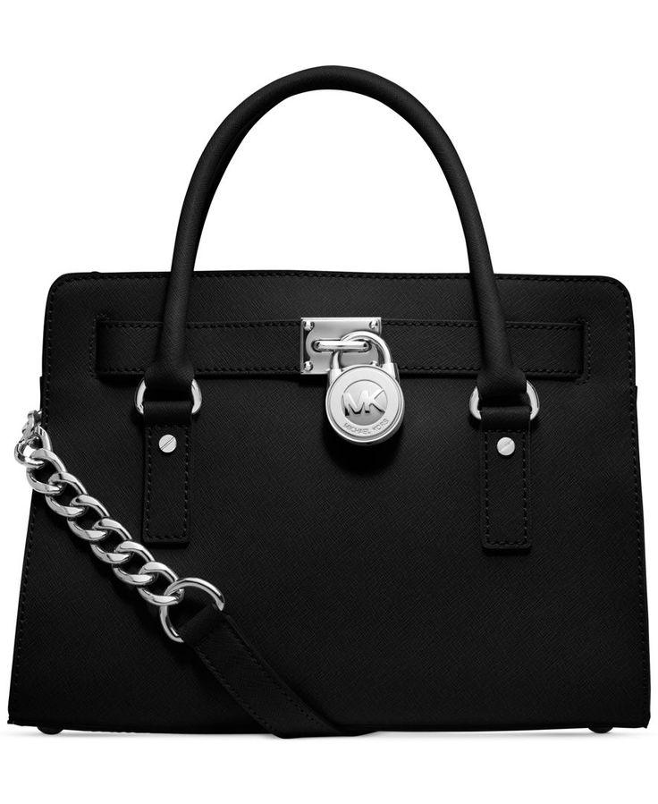 MICHAEL Michael Kors Hamilton Saffiano Leather E/W Satchel - Satchels -  Handbags \u0026 Accessories