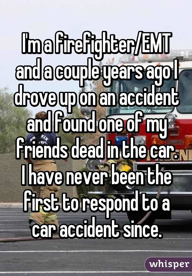 Whisper App. Confessions from firefighters.