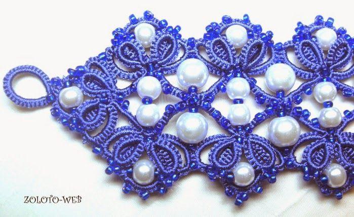 collana chiacchierino | Hobby lavori femminili - ricamo - uncinetto - maglia