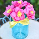 How to Make Paper Flowers With Crepe Paper