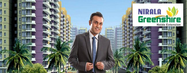 2,3 BHK apartments for sale in Nirala Greenshire, Noida Extension
