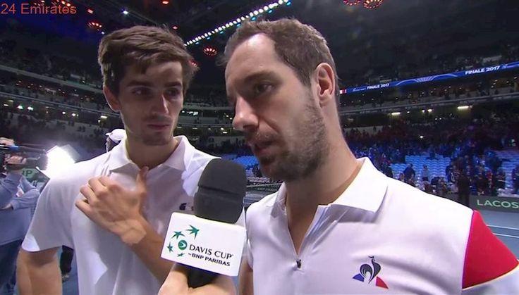 Interview: Richard Gasquet and Pierre-Hugues Herbert