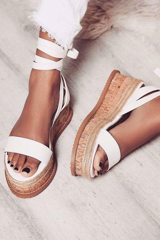 30 Modern Informal Footwear For Women