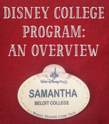 The Disney College Program: An Overview