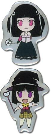 Rosario Vampire Pin Set: Yukari and Ruby