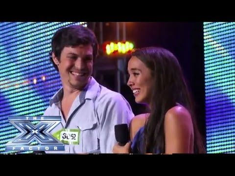 "▶ Alex & Sierra - Sultry Cover of Britney Spears' ""Toxic"" - THE X FACTOR USA 2013 - YouTube - Great group! I would loove to buy their songs. BUT, they are so into each other that it is sort of gross. XD I love love! but..come on.."