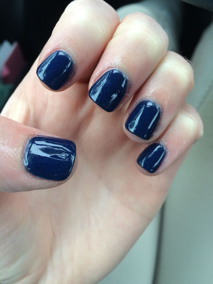 Navy nexgen, cause it's still winter - 101 Best Nails Images On Pinterest Sns Nails, Dipped Nails And