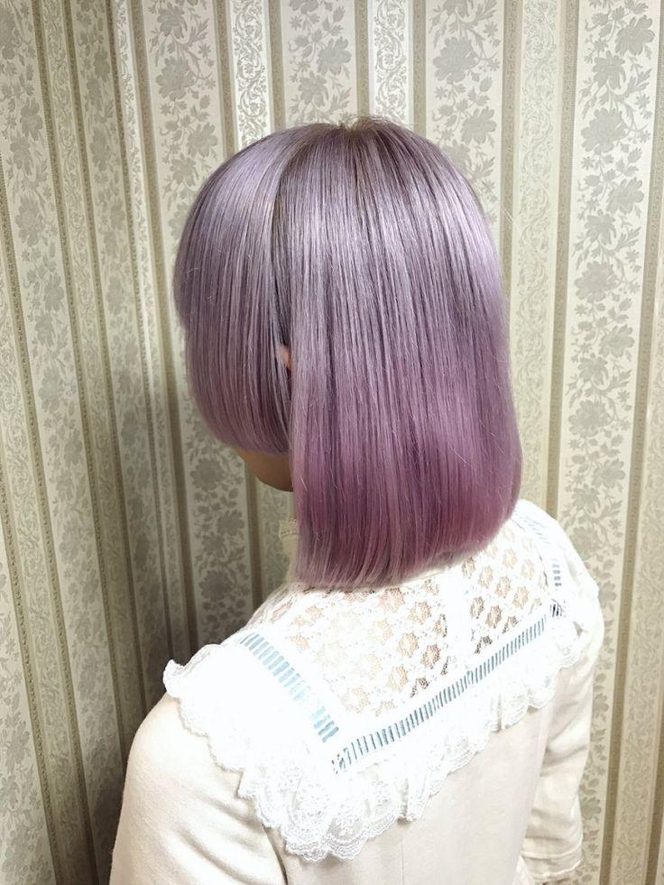 lavender silver ash - pale pink
