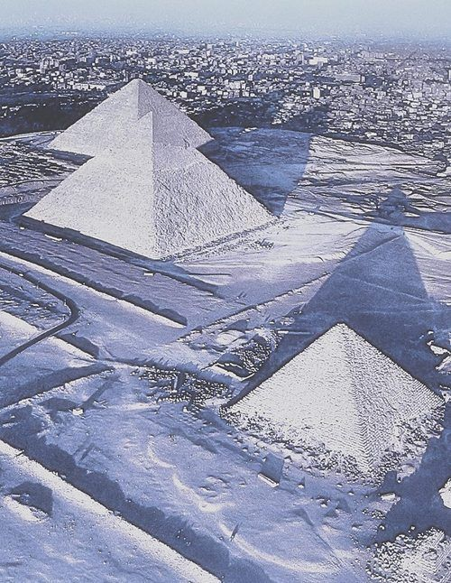 2013 Snow in Egypt ~ For The 1st Time In 112 years