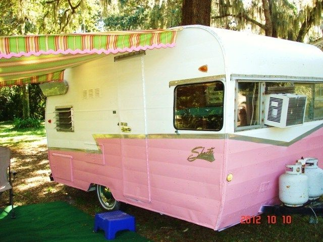 Pin By Live Wild Be Free On Vintage Campers Vintage