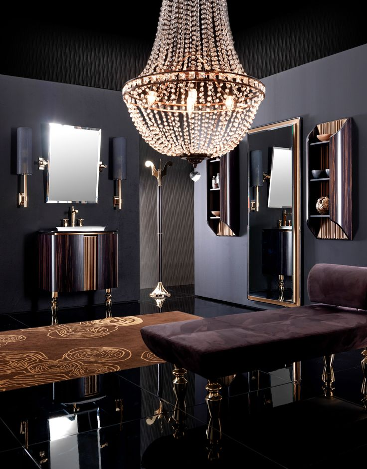 the baina bathroom furniture range is defined by sensual curves and baroque touches that offer a flavour of florence
