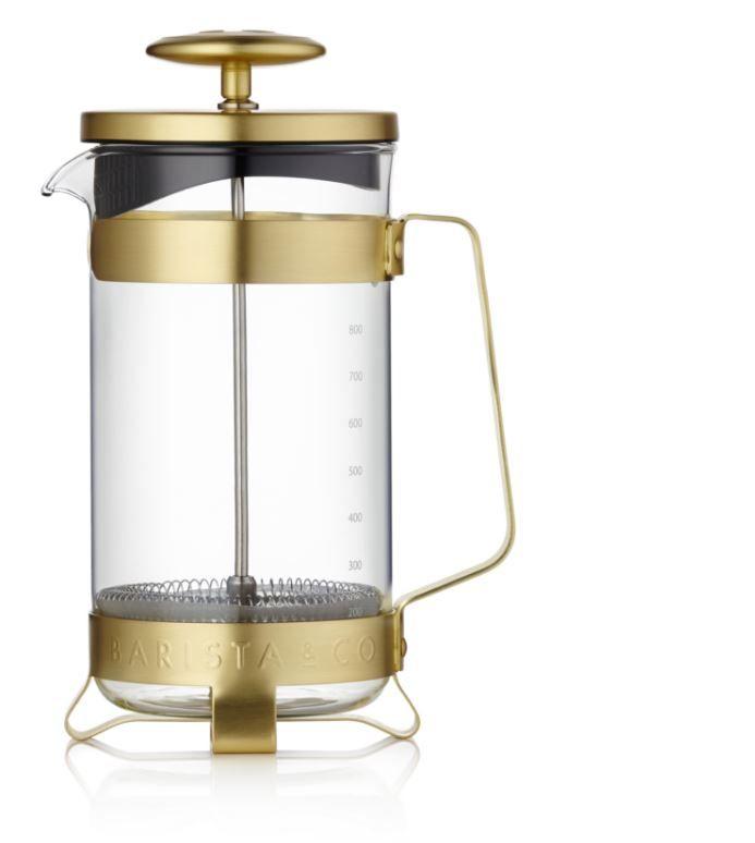 barista french press gold1