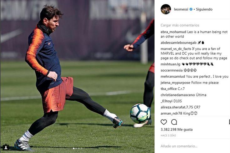 La increíble foto del pie izquierdo de Lionel Messi y su reinvención en el campo de juego - LA NACION (Argentina)