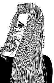 Resultado de imagen para dibujos de chicas tristes tumblr
