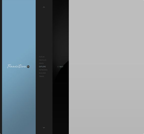 Transition interface. Definition of elegance.