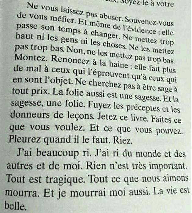 Jean Dormesson La Vie Est Belle Citations Sages