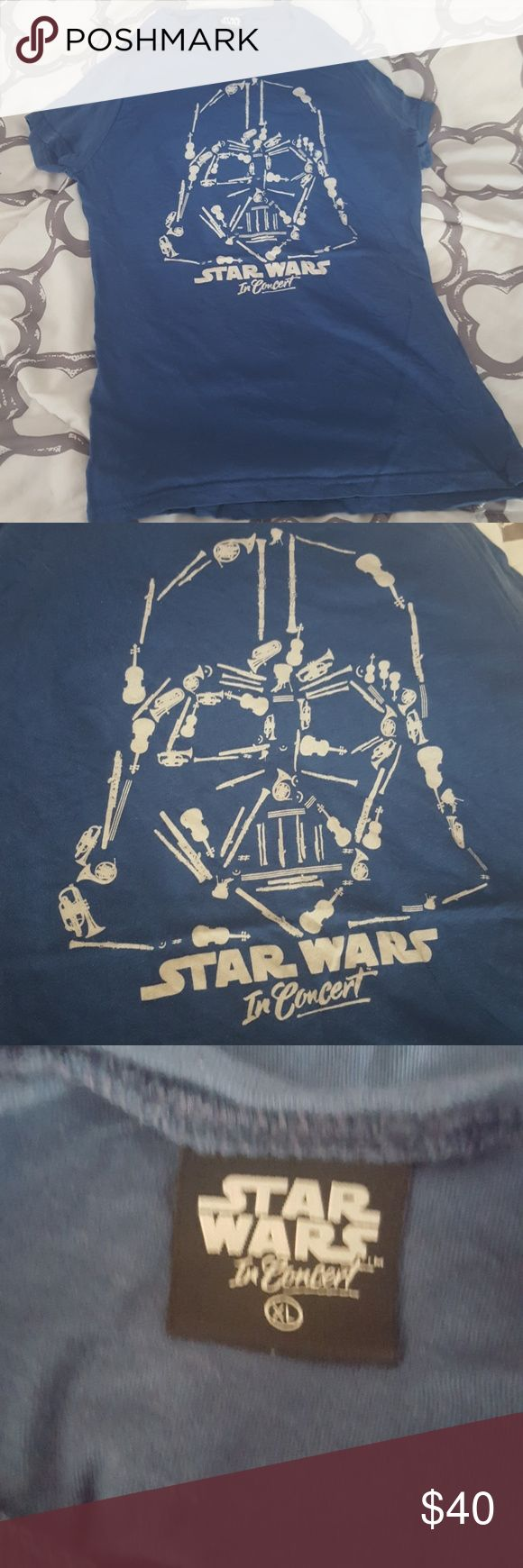 Star Wars in Concert tee from their touring show Souvenir tshirt from Star Wars In Concert show. Tops Tees - Short Sleeve