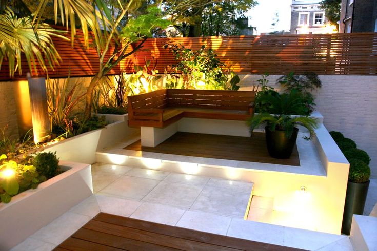 Small Gardens Images Remarkable Trendy And Lovely Small Garden Design Pplextor With Small Garden Wooden Wall Designs Idea