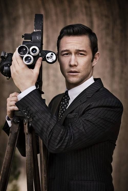 Great portrait of Joseph Gordon Levitt.