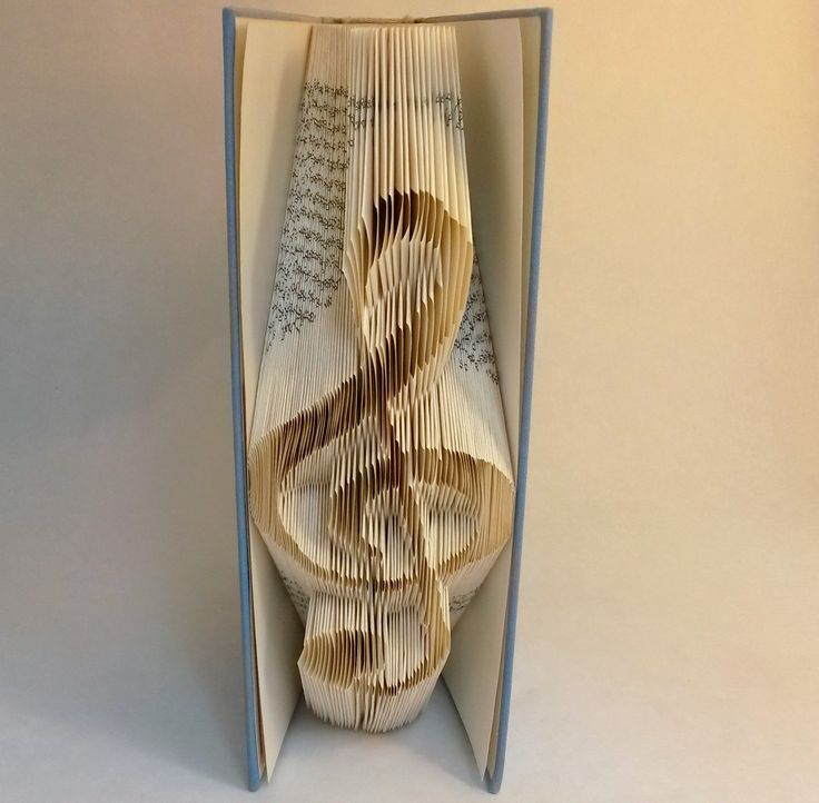 This DIY TUTORIAL gives buyers help to fold TREBLE CLEF into a book (as you see the photos above) – minimum 443 Pages (222 folds).