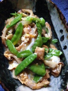 絹さや卵とじ by morigin [クックパッド] 簡単おいしいみんなのレシピ ...
