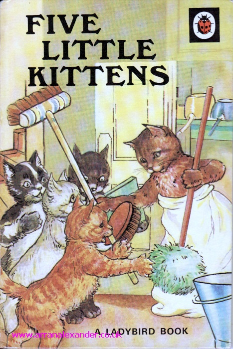 Google Image Result for http://www.arranalexander.co.uk/ekmps/shops/macduffdave/images/five-little-kittens-vintage-ladybird-book-animal-rhymes-series-401-matt-hardback-1974-3109-p.jpg