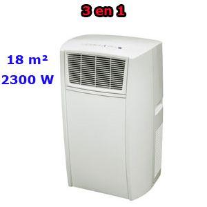 Climatiseur mobile monobloc 2300W - jusqu'à 18 m²