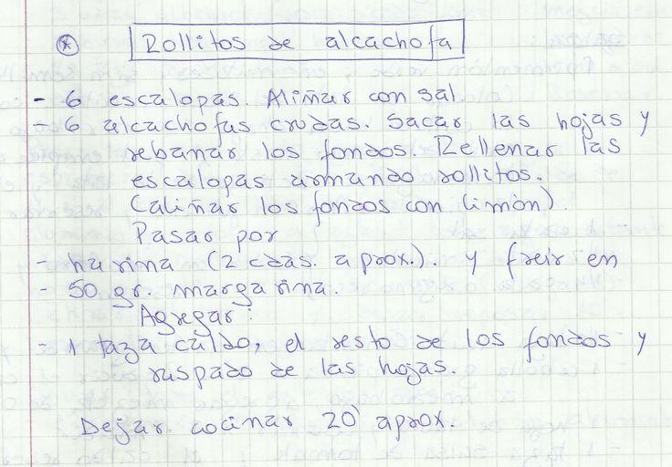 ROLLITOS DE ALCACHOFA   #SALADO #COCTEL #COCTEL #ALCACHOFA