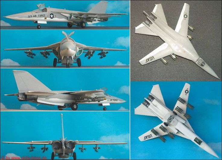 """General Dynamics FB-111A """"Aardvark"""" (Airfix 4008) 1:72"""