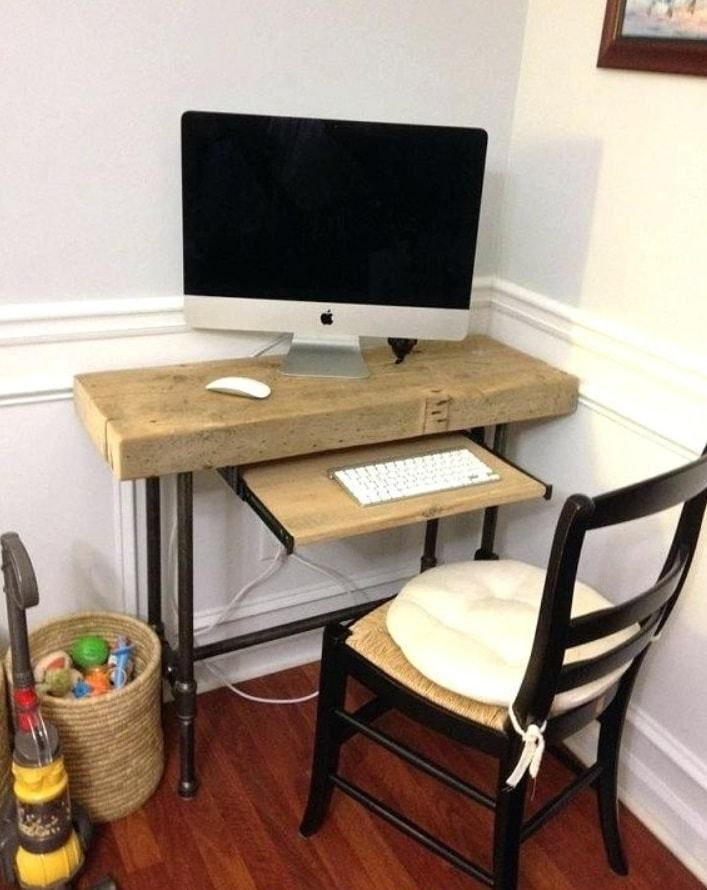 25 Awesome Diy Computer Desk Ideas In 2018 No 16 Is The Best Desks For Small Spaces Diy Computer Desk Small Computer Desk
