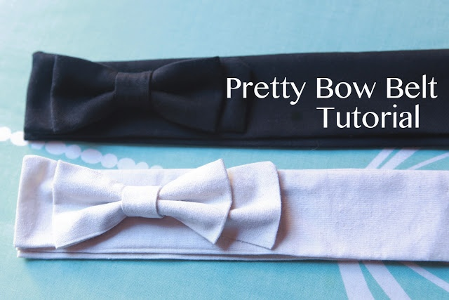 Make your own easy peasy bow belt!     Sewing - Bow Belt Tutorial {via Jennifer Lauren Vintage}