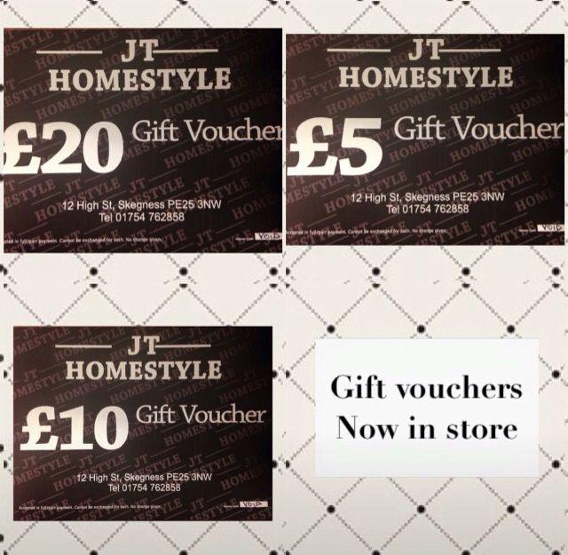 Gift vouchers xxxxx