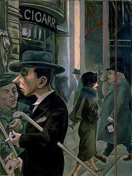 George Grosz - Street Scene, 1923