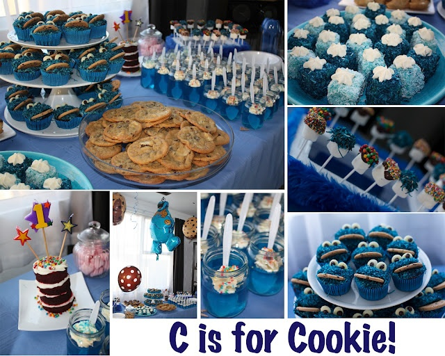 17 best Parkers Cookie Monster Party Ideas images on Pinterest