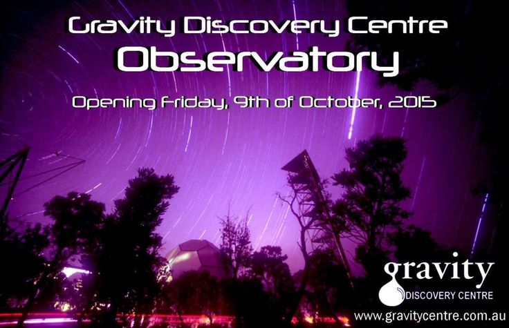 Opening night is Friday October 9  Phone (08) 95757577 to book  #gdcobservatory