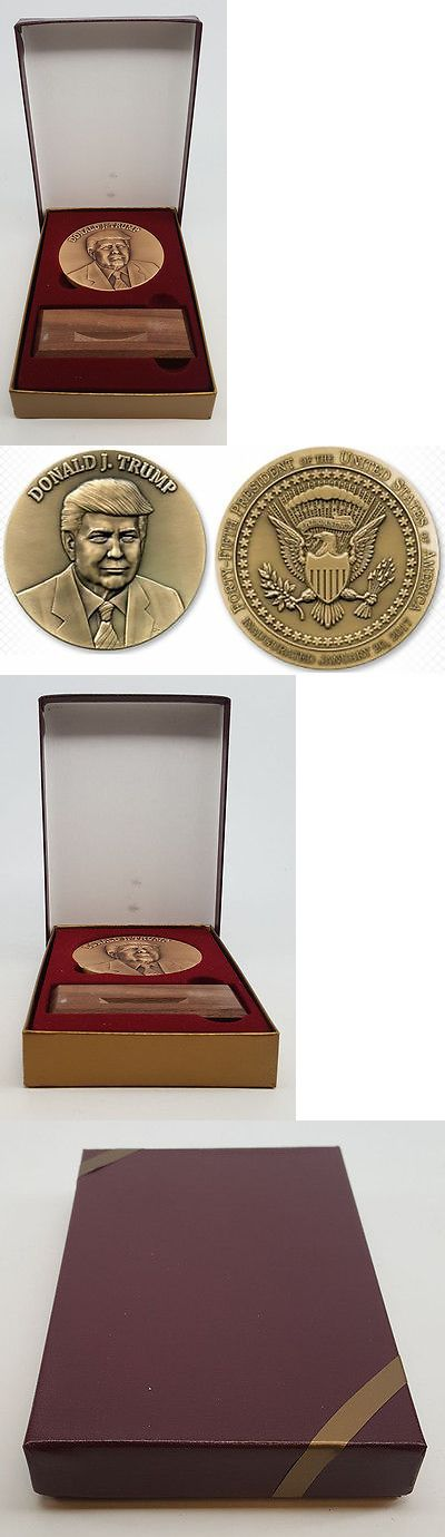 donald trump: Donald Trump 2017 Official Inaugural Medal Ohio Republican Party In Gift Box! BUY IT NOW ONLY: $60.0