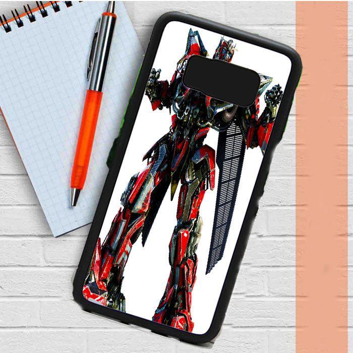 Transformers Sentinel Prime Samsung Galaxy S8 Plus Case Casefreed