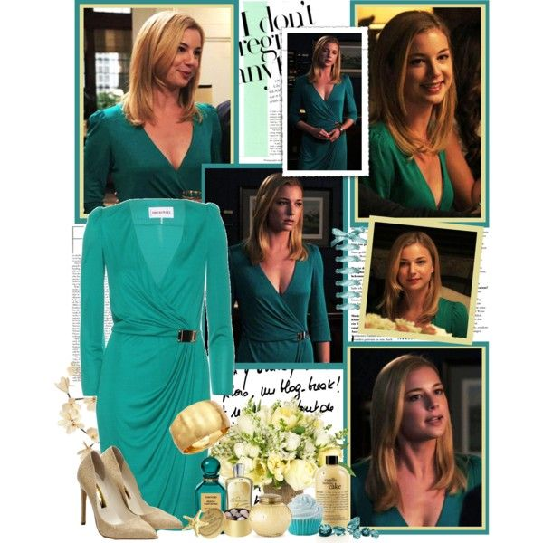 Emily Thorne- LOVE this outfit!