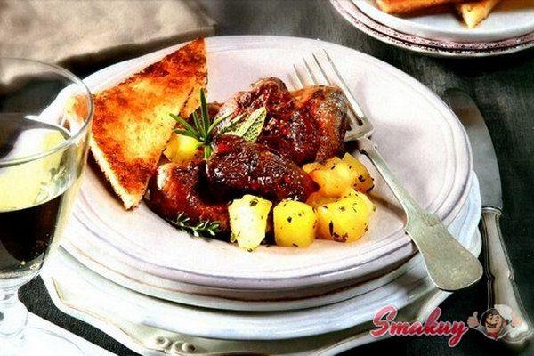 Жареная куриная печенка с тимьяном и розмарином » Смакуй - кулинарные рецепты со всего света!