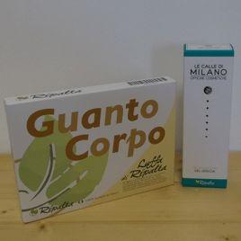 GUANTO CORPO RIPALTA + GEL DOCCIA PLANERBE  Guanto Corpo di Luffa Cylindrica  Gel detergente dalla schiuma morbida e restitutiva http://linearipalta.com/prodotto/guanto-corpo-gel-doccia/