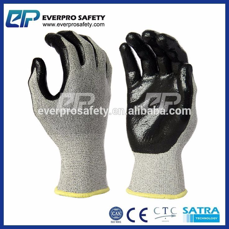 CE Certification Cutters Gloves Nitrile Dipping Cut Proof Gloves