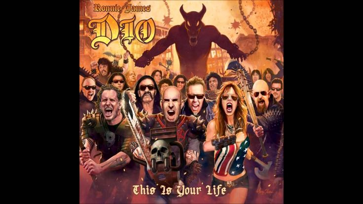 Ronnie James Dio - This Is Your Life [Tribute Album] FULL ALBUM