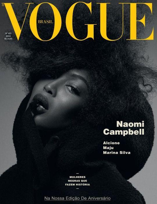 Naomi Campbell - Vogue Brazil May 2016