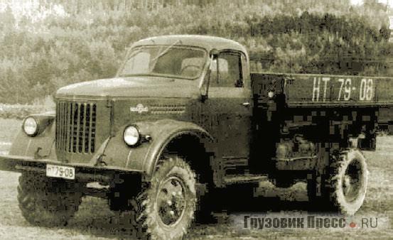 Опытный полноприводный УралЗИС-381. 1957 г.