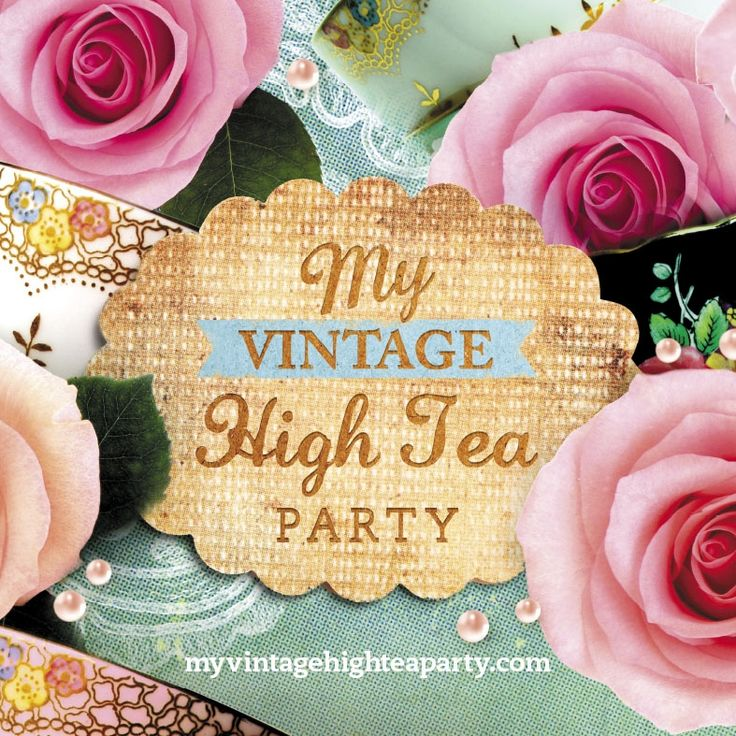 My Vintage High Tea Party - High tea party hire Adelaide