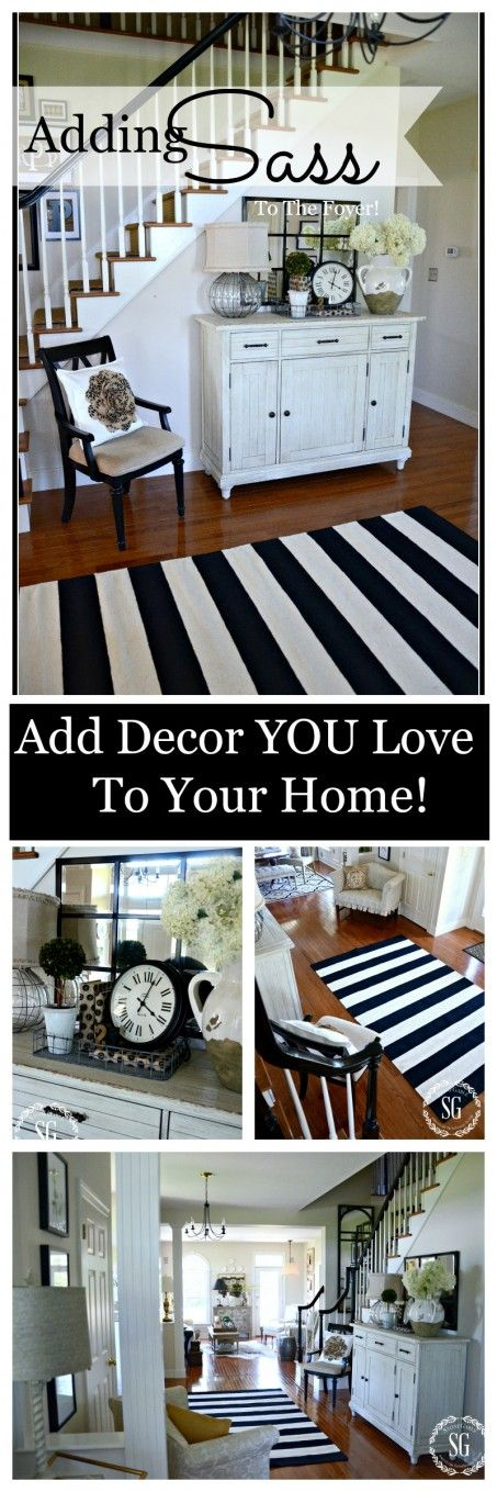 ADDING SASS TO ANY ROOM-Get rid of tired decor and add inspiring things we love-stonegableblog.com