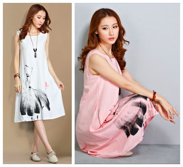 M s de 25 ideas incre bles sobre vestidos de lino blanco for Suelto blanco suelto barato