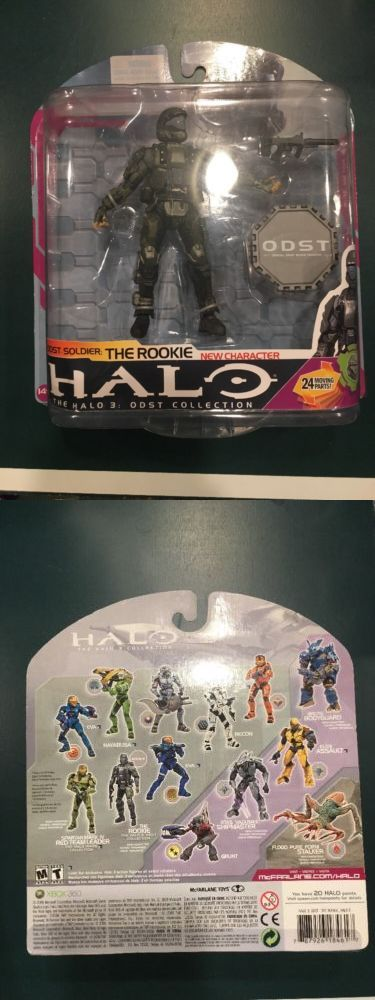 Action Figures 7114: Mcfarlane Toys The Rookie Odst Halo 3 Action Figure -> BUY IT NOW ONLY: $38 on eBay!