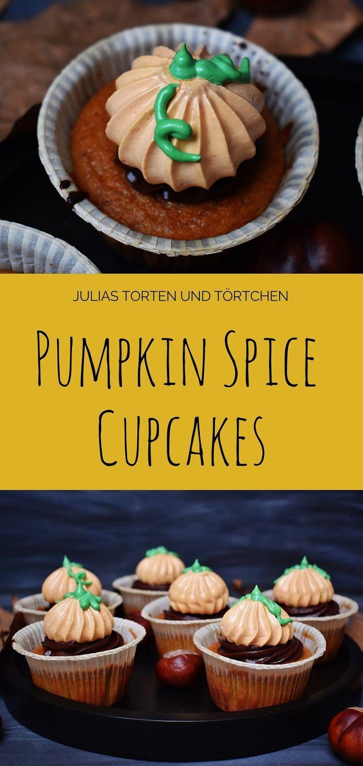 Julias Torten und Törtchen: Pumpkin Spice Cupcakes
