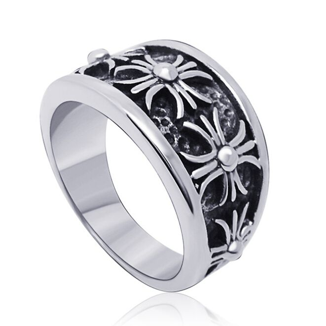 Find More Rings Information about Wholesale New Fashion Gothic Men Titanium Steel Exquisite Retro Cross Man Ring Hot Selling Free Shipping LJR089,High Quality ring pink,China ring record Suppliers, Cheap ring carbon from Mawson Jewelry ---Provide LOGO Services on Aliexpress.com